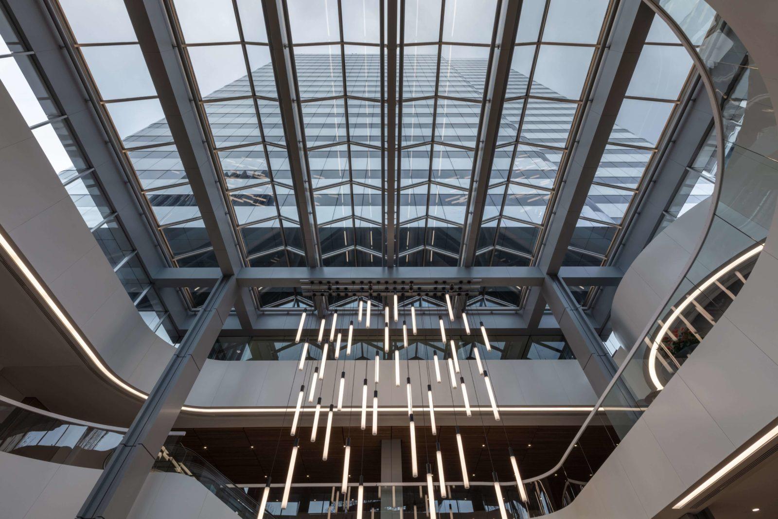 Becker Capital Building Atrium