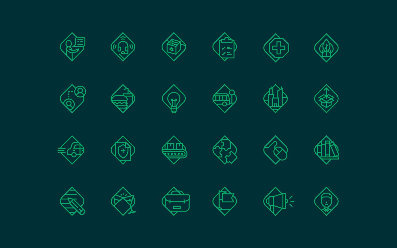 KPA Iconography Grid