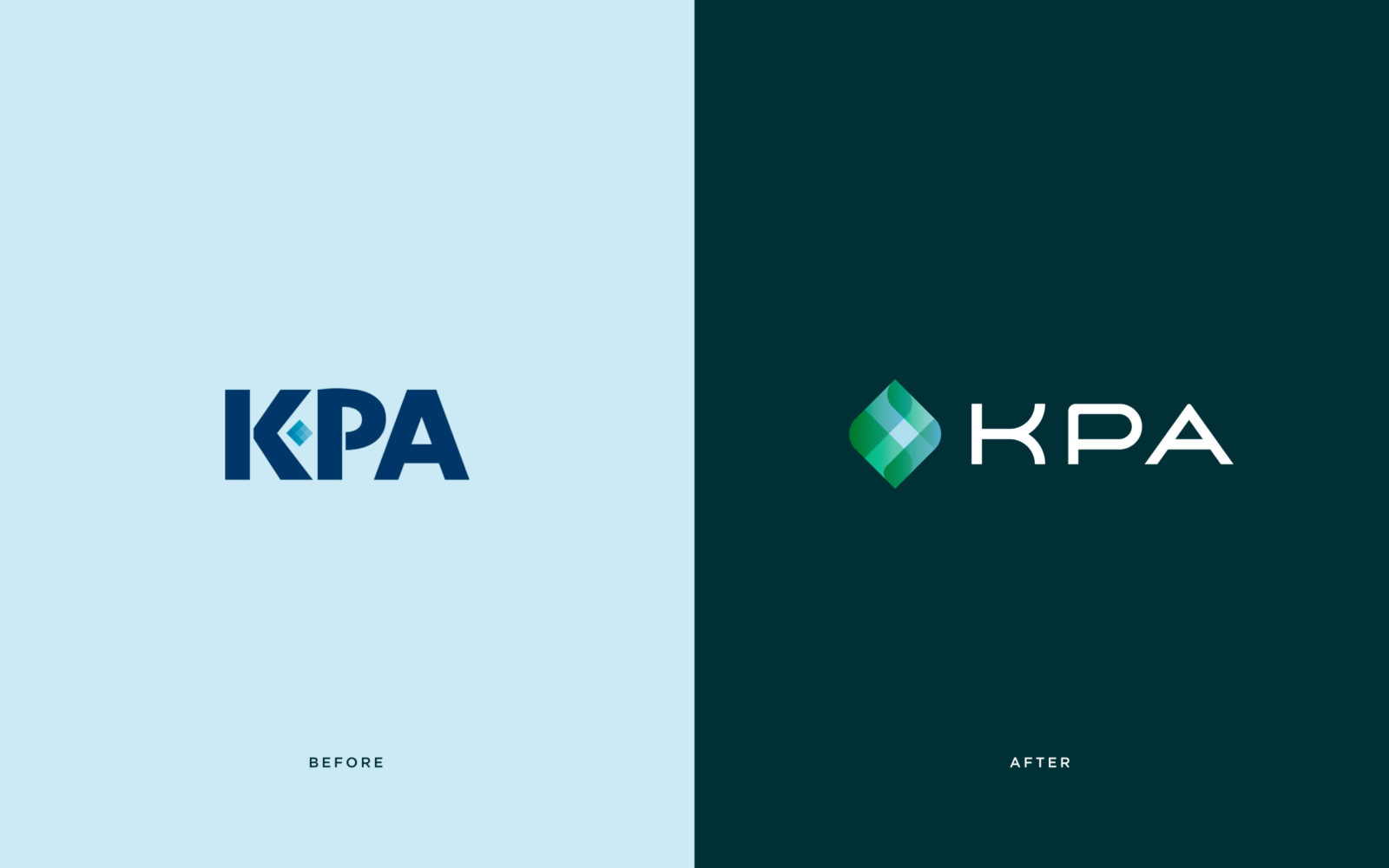 KPA Logo Before and After