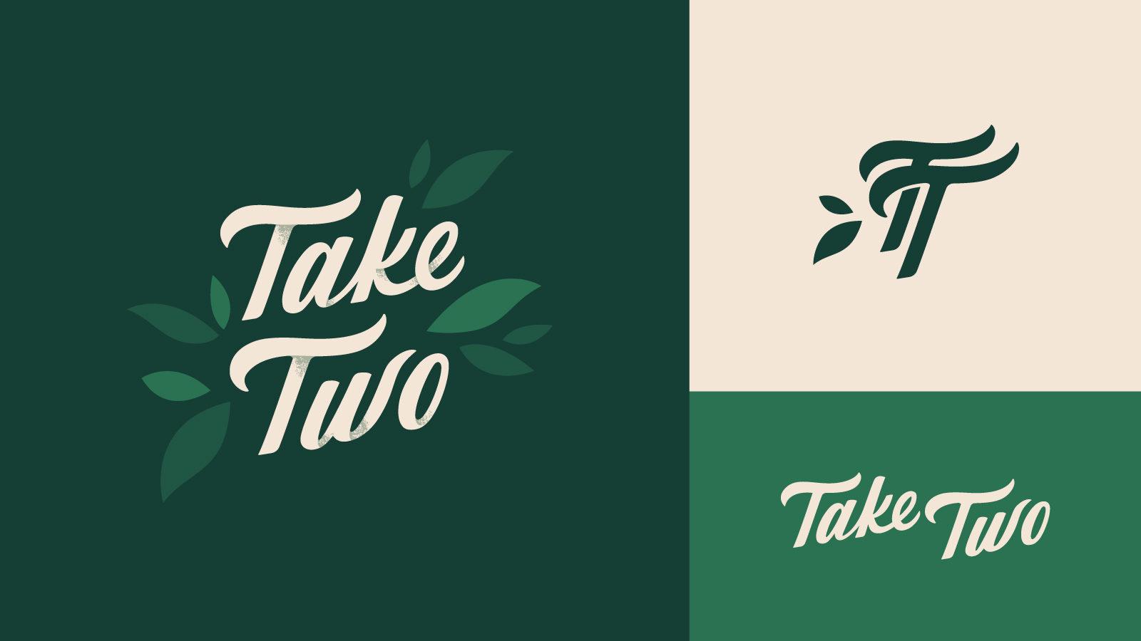 Take Two Logo lockup