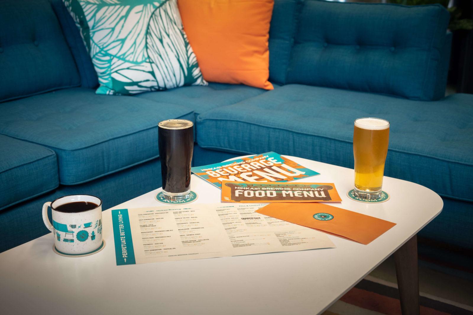 Ninkasi-Better Living Room Beer Table